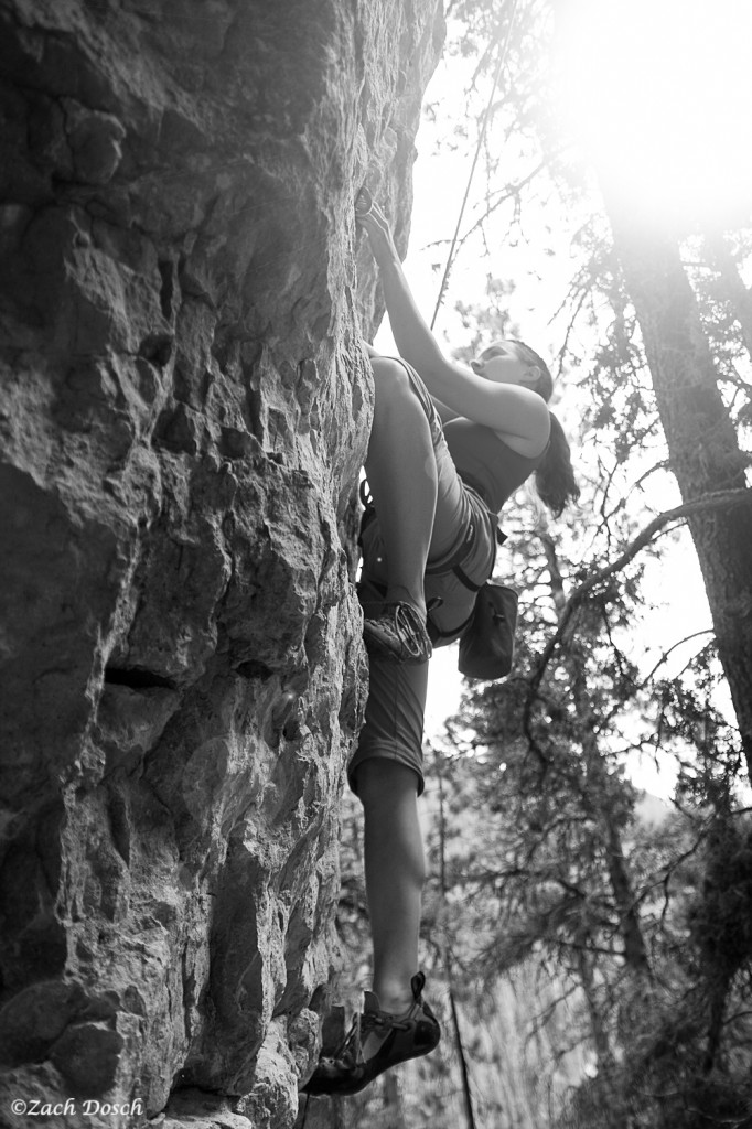 Rock Climbing in the Black Hills