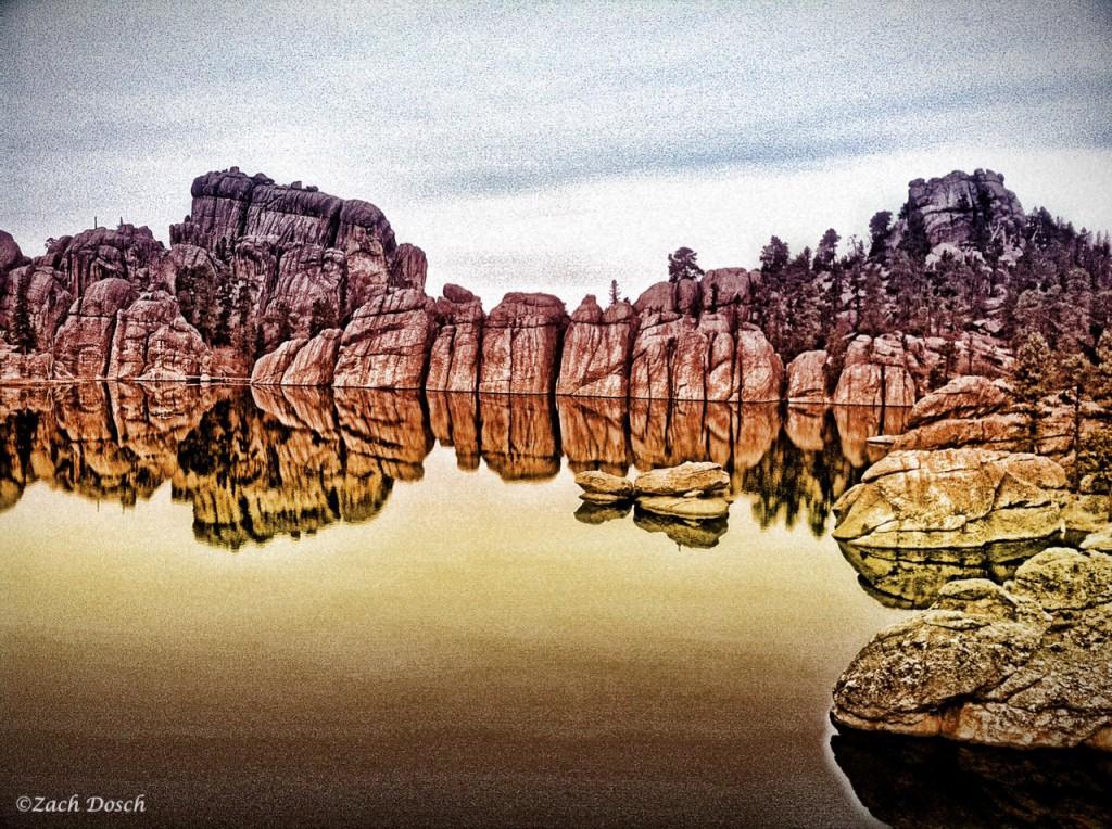Sylvan Lake Rock Climbing