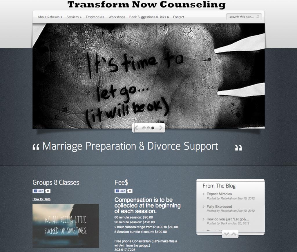 TransformNowCounseling.com