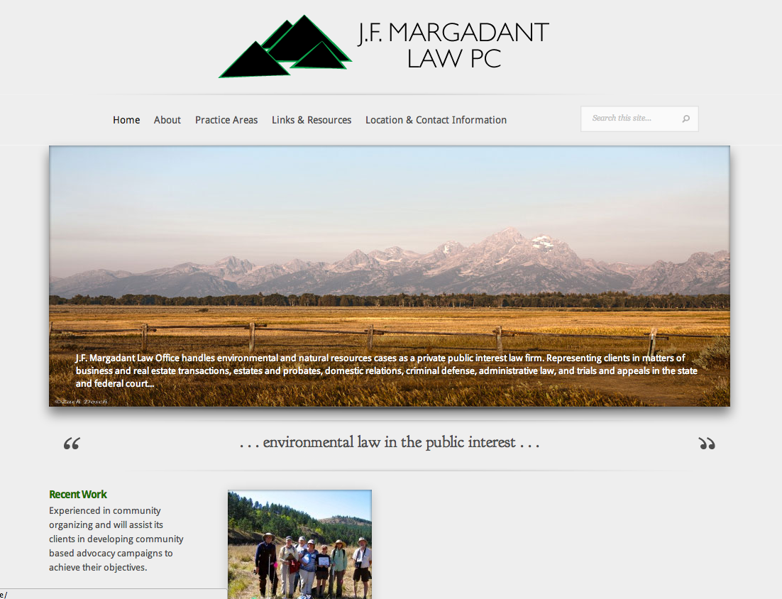 Margadant Law PC – Website Development