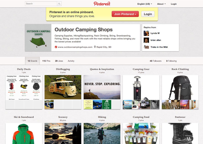 Pinterest - Social Media For Businesses