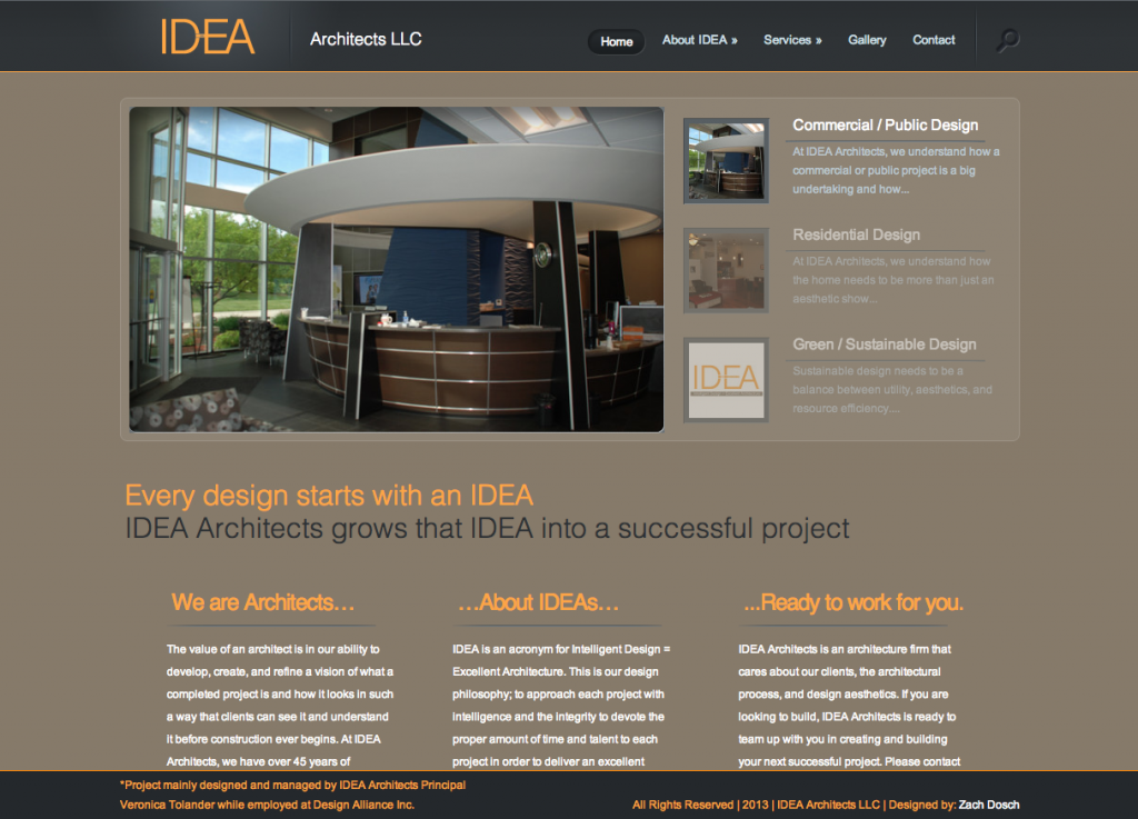 Architecture Firm Website Design and SEO Optimization